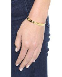 Elizabeth and James Bassa Cuff Bracelet Yellow Gold