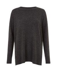 Hobbs | Gray Natalie Sweater | Lyst