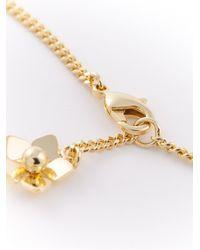 Fendi Metallic 'Blossom' Necklace