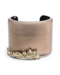 Alexis Bittar | Brown Crystal Lace Cuff You Might Also Like | Lyst