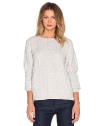 Line - Natural Duncan Sweater - Lyst