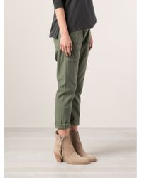 Citizens of Humanity Green Leah Trousers