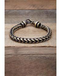 Forever 21 Metallic Men Vitaly Kusari Bracelet for men