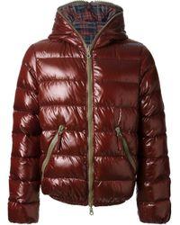 Duvetica Brown Reversible Jacket for men