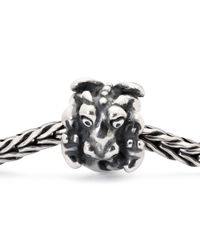 Trollbeads - Metallic Easter Dragon Sterling Silver Charm - Lyst