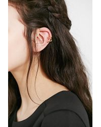 Urban Outfitters | Metallic Friend Of The Night Cuff Earring | Lyst