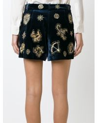 Emilio Pucci   Blue Shorts   Lyst