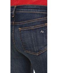 Rag & Bone Blue The Skinny Jeans - Chaucer