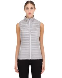 Patagonia Gray Ultralight Down Vest