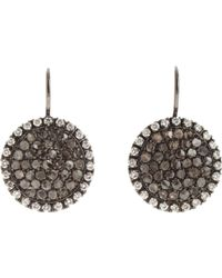 Roberto Marroni | Gray Women's Sand Drop Earrings | Lyst