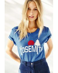 Truly Madly Deeply Blue Yosemite Tee