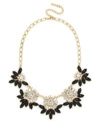BaubleBar Black Botanica Collar
