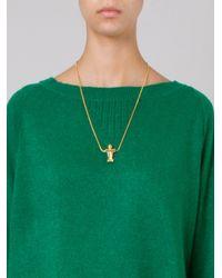 Osklen - Metallic Pendant Necklace - Lyst