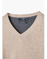 Mango | Natural Cotton Cashmere-blend Sweater for Men | Lyst