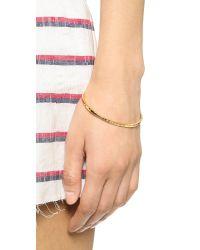 Gorjana - Metallic Taner Cuff Bracelet - Gold - Lyst