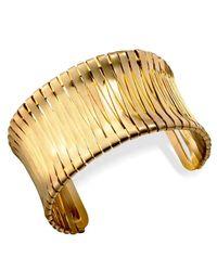 Kenneth Cole - Metallic Gold-tone Cuff - Lyst