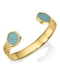 Monica Vinader Blue Atlantis Cuff