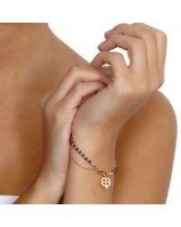 Astley Clarke - Metallic Biography Four Leaf Clover 18ct Gold Vermeil Friendship Bracelet - Lyst