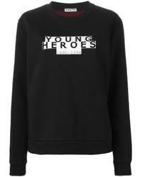 AALTO - Black Young Heroes Print Sweatshirt - Lyst