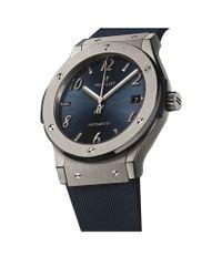 Hublot Metallic Limited Edition Classic Fusion Titanium Watch for men