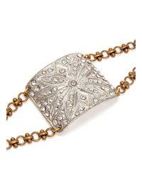 Lulu Frost | Metallic Art Deco Vintage Bracelet | Lyst