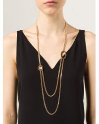 Rebecca | Metallic 'elizabeth' Necklace | Lyst