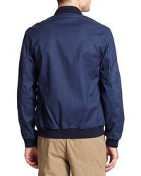 YMC - Blue Bomber Jacket for Men - Lyst