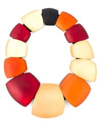 Monies | Multicolor Oversized Beads Necklace | Lyst