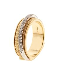 Marco Bicego | Metallic Il Cairo Three Strand Diamond Ring | Lyst
