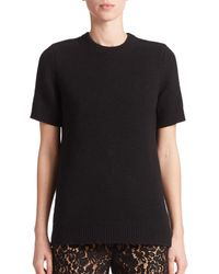 Michael Kors | Black Cashmere Sweater Top | Lyst