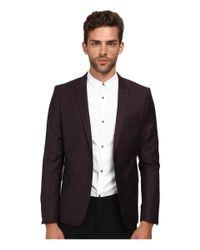 The Kooples | Purple Iridescent Suit Jacket for Men | Lyst