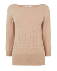 Oasis Natural The Textured Knit
