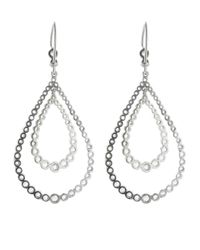 Andrea Fohrman - Metallic Rose Cut Diamond Teardrop Earring - Lyst