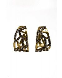 Nicole Romano - Brown Circini Earrings - Lyst