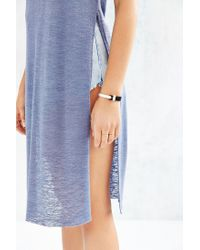 Project Social T - Blue Into The Desert Tunic Top - Lyst