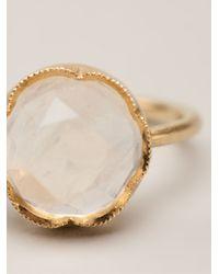 Irene Neuwirth White Moonstone Ring