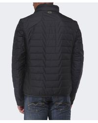 BOSS Green - Black Quilted Jelgar Jacket for Men - Lyst