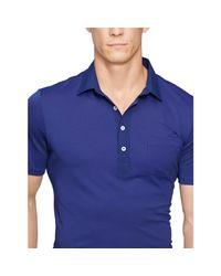 Ralph Lauren   Blue Lightweight Polo for Men   Lyst