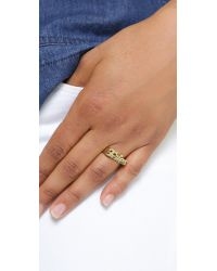 Snash Jewelry - Metallic Fries Ring - Gold - Lyst
