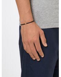 Luis Morais | Black Mini Hamsa Spacer Beaded Bracelet for Men | Lyst