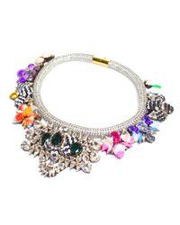 Shourouk | Multicolor Avalon Necklace | Lyst