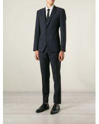 Dolce & Gabbana - Blue Classic Three-piece Suit for Men - Lyst