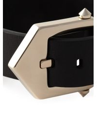 Givenchy | Black Star Studded Cuff | Lyst