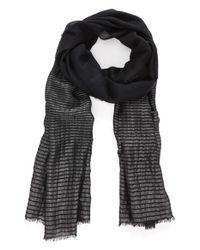 Glint - Black Shimmer Stripe Wrap - Lyst