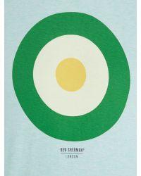 Ben Sherman | Green Target Tee Basic for Men | Lyst