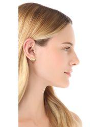 Noir Jewelry Metallic Bang Pow Earrings