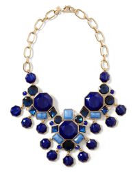 Banana Republic - Midnight Sail Statement Necklace Blue - Lyst
