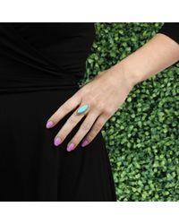 Andrea Fohrman - Metallic Marquis Turquoise Ring - Lyst