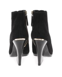 Burberry Prorsum - Black Virginia Suede Ankle Boots - Lyst