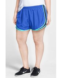 Nike | Blue 'tempo' Track Shorts | Lyst